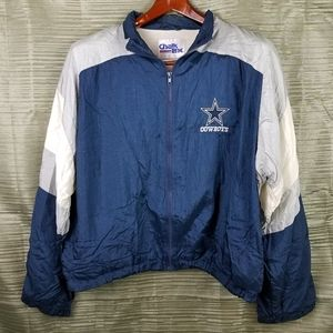 Vintage Dallas Cowboys NFL Windbreaker Jacket